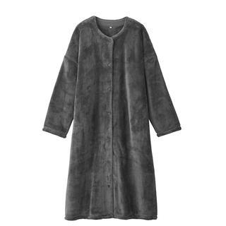 MUJI (無印良品) - 新品 無印良品 着る毛布 スリーパー グレー L
