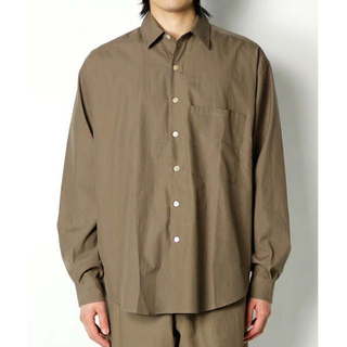 1LDK SELECT - AURALEE シャツ パンツ セットアップ WASHED FINX TWILL