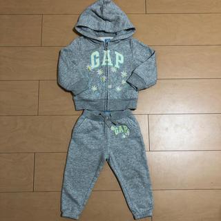 babyGAP - babyGap セットアップ 女の子 90cm 18〜24ヶ月用 グレー