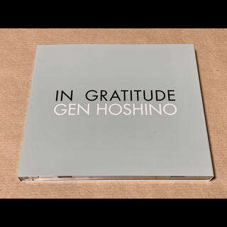 特典盤 CD+Blu-ray * 星野源 * IN GRATITUDE