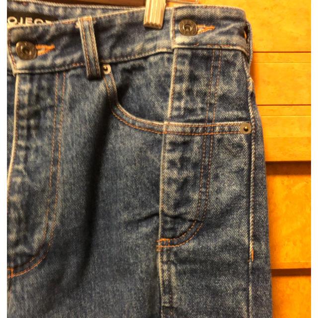 JOHN LAWRENCE SULLIVAN(ジョンローレンスサリバン)のy/project 再構築デニム M メンズのパンツ(デニム/ジーンズ)の商品写真