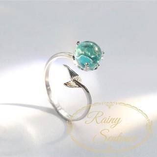 【RR-8】マーメイド 指輪 リング 人魚(リング(指輪))
