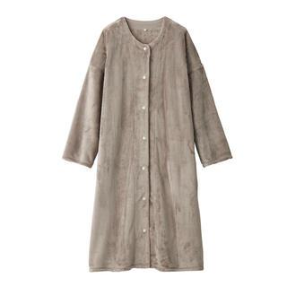 MUJI (無印良品) - 新品 無印良品 着る毛布 スリーパー ベージュ L