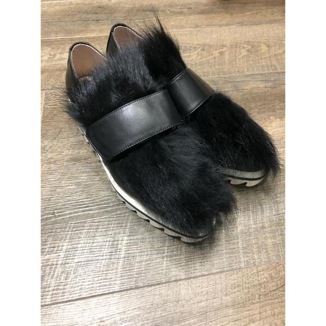 アンスリード✴︎ファーベルテッドシューズ✴︎レア✴︎荻原桃子✴︎UN3D✴︎ レディースの靴/シューズ(ローファー/革靴)の商品写真
