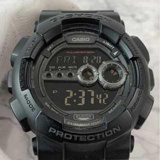 カシオ(CASIO)の☆特価セール☆ 【カシオ】ジーショック デジタル腕時計 黒 ゴムベルト ブランド(腕時計(デジタル))