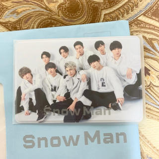 Johnny's - Snow Man ファンクラブ入会特典 会員証ケース