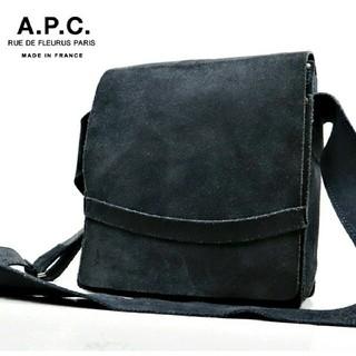 A.P.C - 【美品】フランス製 A.P.C アーペーセー 本革  ショルダー クロスボディー