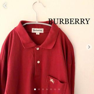 バーバリー(BURBERRY)のBURBERRY REGD 長袖ポロシャツ  Lサイズ バーバリー  (ポロシャツ)