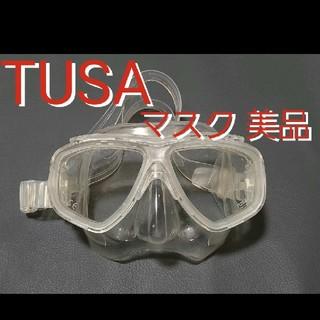 ツサ(TUSA)のTUSA マスク スキューバダイビング シュノーケリング ゴーグル ツサ(マリン/スイミング)