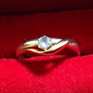 4℃ - 4℃ 指輪 シルバー K10 タンザナイト 10号