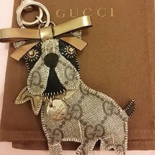 グッチ(Gucci)のグッチ フレンチブルドッグ グッチョリ キーホルダー レロイ REROY  犬(キーホルダー)