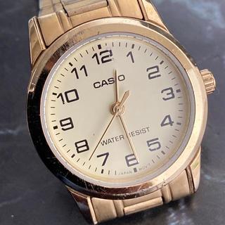 カシオ(CASIO)の☆決算セール☆ カシオ 時計 アナログ時計 腕時計 ゴールド レディース(腕時計)