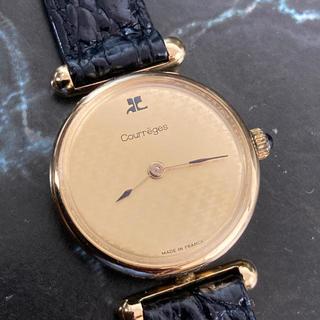 クレージュ(Courreges)の☆決算セール☆ courreges 時計 アナログ時計 腕時計 ゴールド(腕時計)
