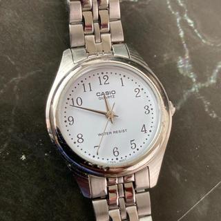 カシオ(CASIO)の☆決算セール☆ カシオ 時計 腕時計 アナログ メタルベルト シルバー(腕時計)