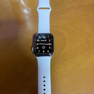 アップルウォッチ(Apple Watch)のApple Watch series5 ステンレス 44mm(腕時計(デジタル))