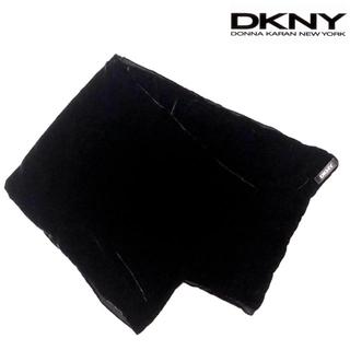 ダナキャランニューヨーク(DKNY)のダナキャラン ニューヨーク ベロアストール BK 【DKNY】(マフラー/ショール)