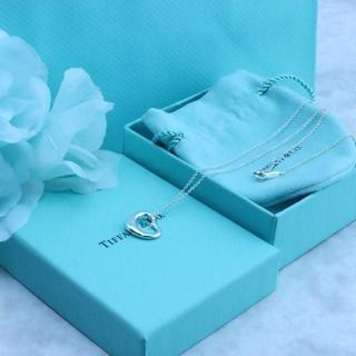 Tiffany & Co. - ☆新品☆未使用☆ティファニー オープンハートネックレス 16mm