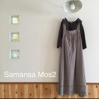 SM2 - Samansa Mos2♡レースセーラー衿ブラウス&スカラップレースワンピース