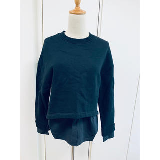 ルシェルブルー(LE CIEL BLEU)の《美品》ルッシェルブルー スウェットシャツ(トレーナー/スウェット)