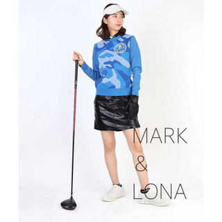 ☆新品☆【MARK&LONA】ラメ混カモフラ ニット
