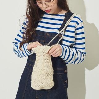 ドットアンドストライプスチャイルドウーマン(Dot&Stripes CHILDWOMAN)の新品 CHILD WOMAN チャイルドウーマン お花カギ針バッグ(トートバッグ)