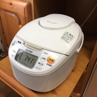 ミツビシデンキ(三菱電機)の三菱 IH炊飯ジャー(5.5合)   NJ-NH106-W(炊飯器)