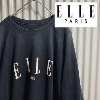 エル(ELLE)の古着 90's ELLE PALIS スウェット トレーナー(トレーナー/スウェット)