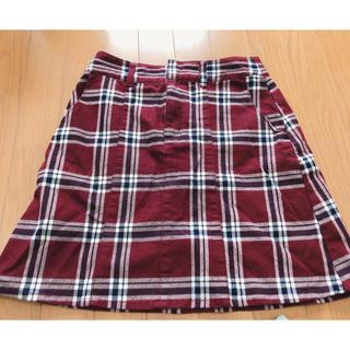 heather - Heather 赤チェック スカート