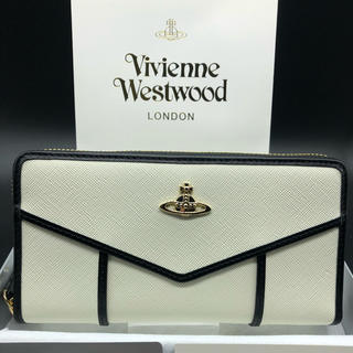 Vivienne Westwood - 【新品・正規品】ヴィヴィアン ウエストウッド 長財布 317 白 プレゼント