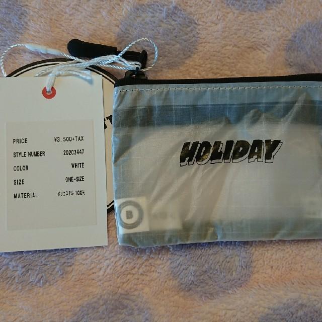 holiday(ホリデイ)の最終価格★タグ付き新品☆HOLIDAY NINI WALLET レディースのファッション小物(財布)の商品写真