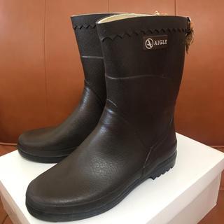AIGLE - レインブーツ 長靴 エーグル AIGLE ビソン BISON 37  23.5