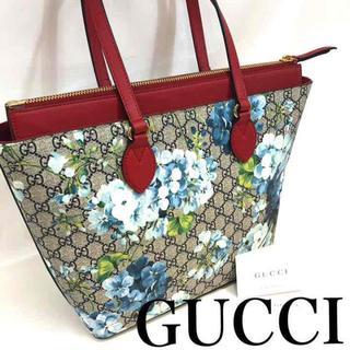 Gucci - GG スプリーム トートバッグ ショルダーバッグ ブルームス フラワー 花柄