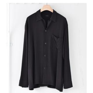 COMOLI - comoli オープンカラーシャツ レーヨン 新品