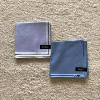 ダナキャランニューヨーク(DKNY)のDKNハンカチ2枚(ハンカチ/ポケットチーフ)
