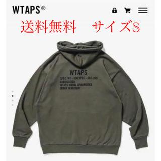 W)taps - 20SS WTAPS ACADEMY HOODED Olive Sサイズ