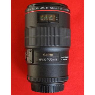 Canon - キヤノン EF100 f2.8Lマクロ
