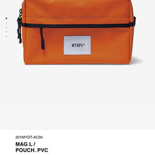 W)taps - wtaps ポーチ 20ss MAG L / POUCH. PVC Orange