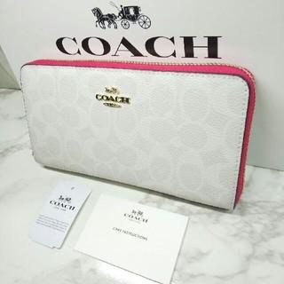 COACH - COACHコーチ人気 ☆ダンボ☆長財布☆新品未使用☆