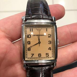 腕時計 エンポリオアルマーニ 純正革