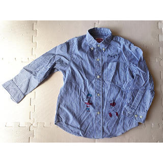 DENIM DUNGAREE - デニム ダンガリー 120 ボタンダウンシャツ