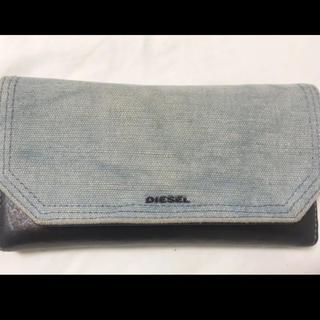 DIESEL - diesel デニム 長財布