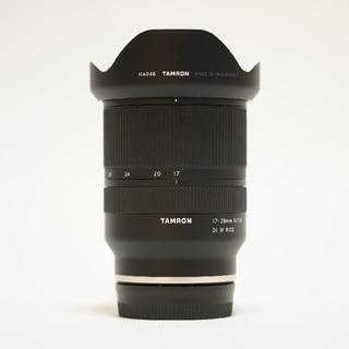 TAMRON - TAMRON 17-28mm F/2.8 Di III RXD SONY α7