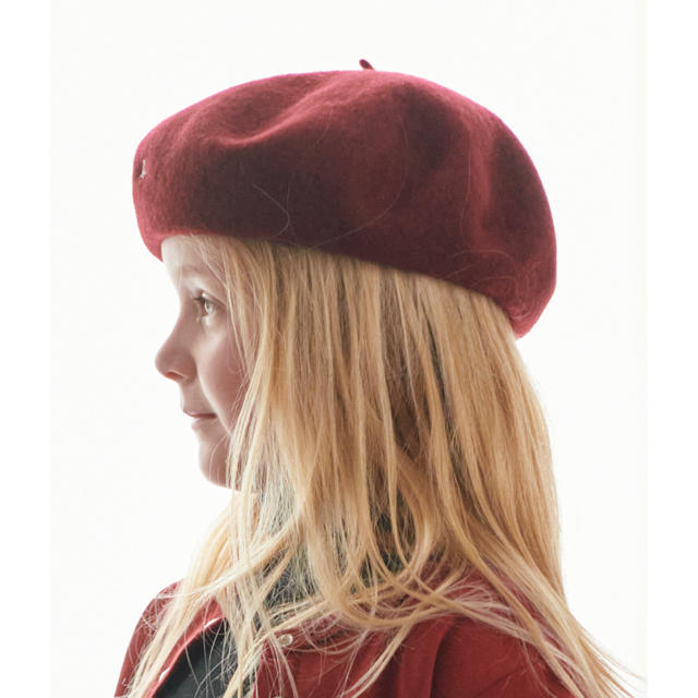 agnes b.(アニエスベー)の新品•未開封 アニエス・ベー キッズベレー帽 キッズ/ベビー/マタニティのこども用ファッション小物(帽子)の商品写真