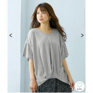 ニッセン(ニッセン)のゆったりシルエット トップス M(Tシャツ(半袖/袖なし))