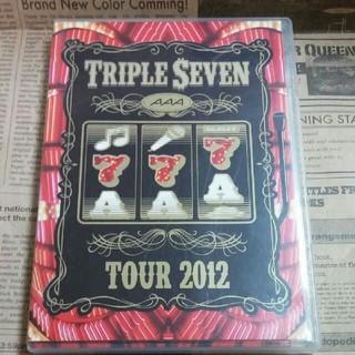 AAA - AAA TOUR 2012 -777- TRIPLE SEVEN DVD