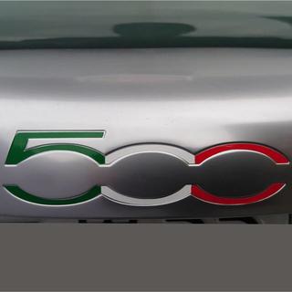 アバルト・フィアット500 テールゲート500デカール(トリコローレ)