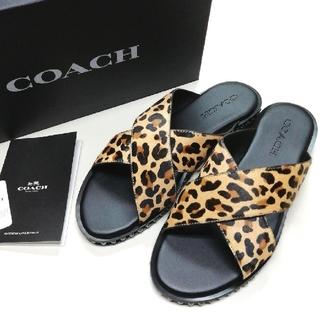 COACH - 【COACH★G3975】コーチ レディース サンダル専用BOX付き♪ 新品