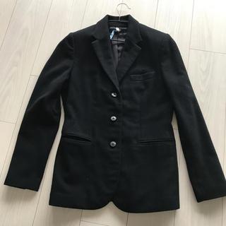 ラルフローレン(Ralph Lauren)のラルフローレンカシミア100%ジャケット 黒 11号(テーラードジャケット)