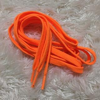 オレンジ 靴ひも (その他)
