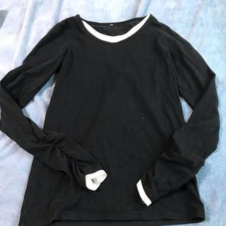ニッセン(ニッセン)の重ね着風 ロンT トップス M (Tシャツ(長袖/七分))